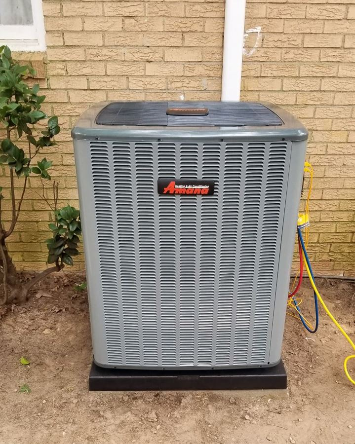 New Amana Heat Pump And Air Handler Installation In